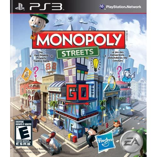 Monopoly Streets For PlayStation 3 PS3 Board Games