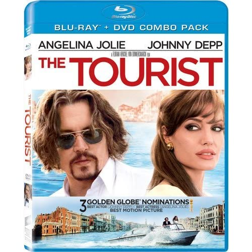 Image 0 of The Tourist Two-Disc Blu-Ray/dvd Combo On Blu-Ray With Johnny Depp 2 Drama