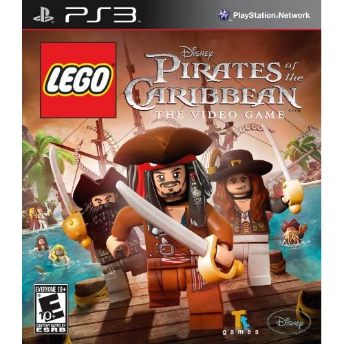 Image 0 of Lego Pirates Of The Caribbean For PlayStation 3 PS3 Disney