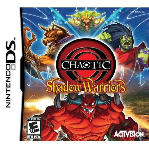 Image 0 of Chaotic: Shadow Warriors For Nintendo DS DSi 3DS 2DS Strategy