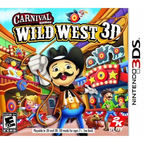 Carnival Games Wild West 3D Nintendo For 3DS