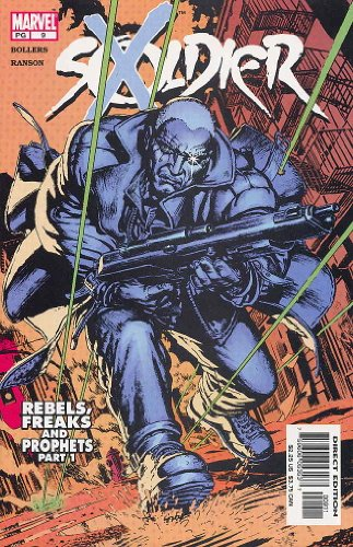 Soldier X 2002 #9 Comic Book