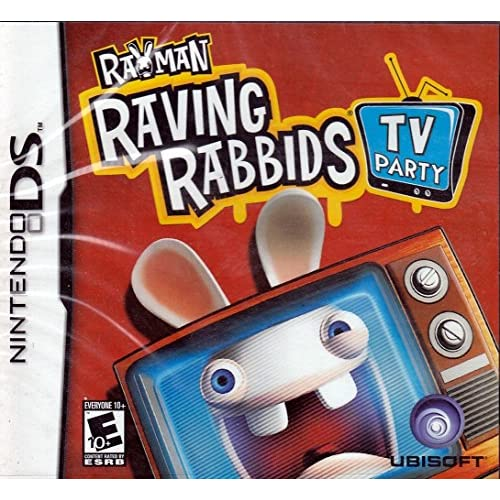 Image 0 of Rayman Raving Rabbids TV Party For Nintendo DS DSi 3DS 2DS Trivia