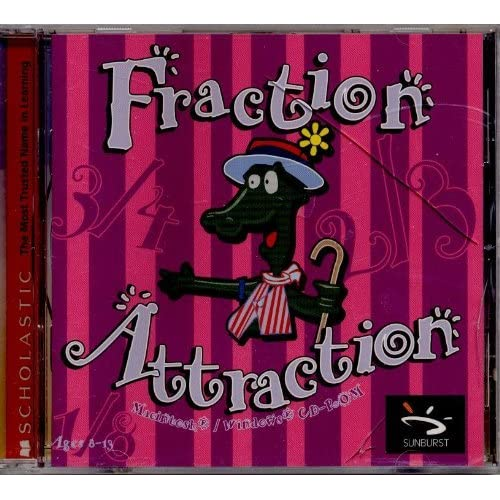 Image 0 of Scholastic: Fraction Attraction For Ages 8-13 Software