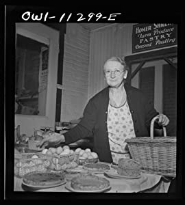 Pennsylvania woman selling eggs at the farmers' market, 1942