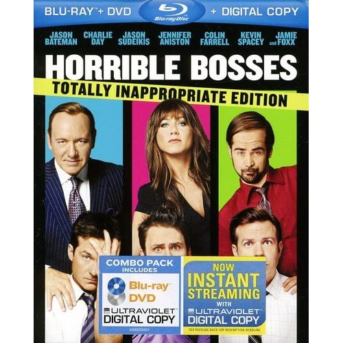 Horrible Bosses Totally Inappropriate Edition Blu-Ray On DVD With