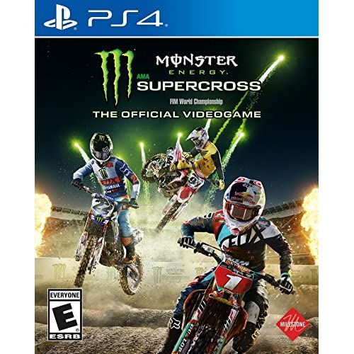 Image 0 of Monster Energy Supercross: The Official Videogame For PlayStation 4 PS4 Racing
