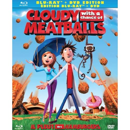 Image 0 of Cloudy With A Chance Of Meatballs On Blu-Ray