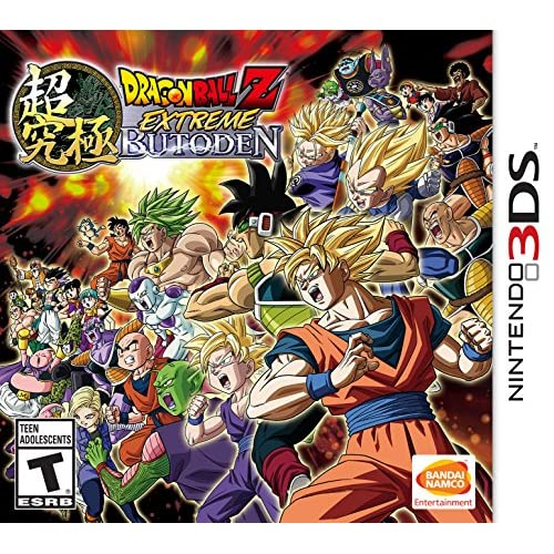 Dragon Ball Z: Extreme Butoden Nintendo For 3DS Fighting