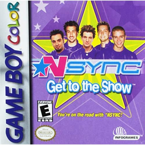N*sync: Get To The Show On Gameboy Color Music