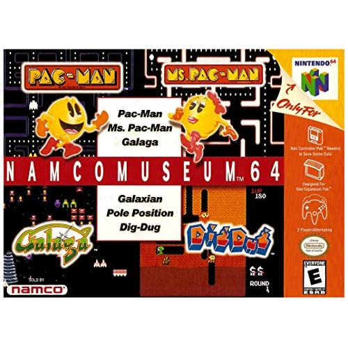 Image 0 of Namco Museum 64 For N64 Nintendo
