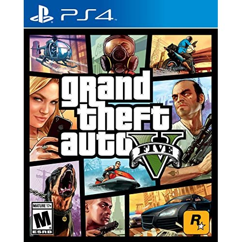 Grand Theft Auto V For PS4 PlayStation 4