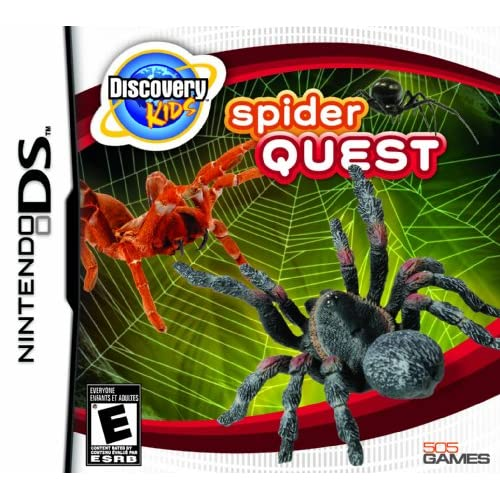 Image 0 of Discovery Kids: Spider Quest For Nintendo DS DSi 3DS 2DS