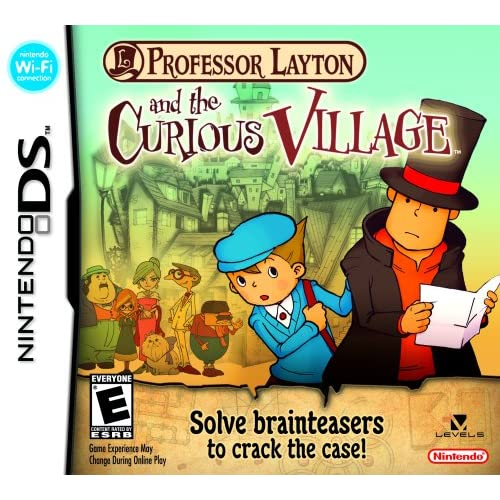 Image 0 of Professor Layton And The Curious Village For Nintendo DS DSi 3DS 2DS Puzzle Game