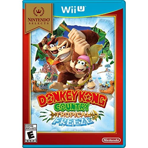 Nintendo Selects: Donkey Kong Country: Tropical Freeze For Wii U