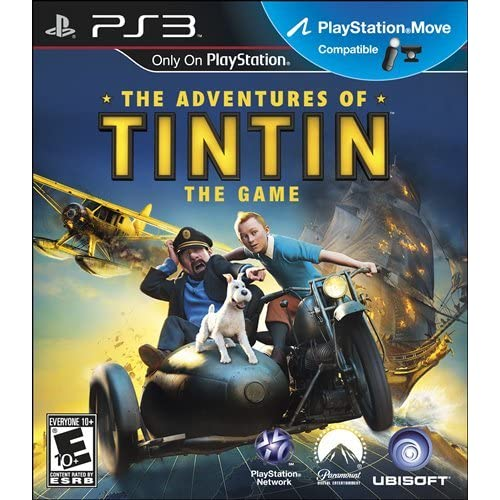 Adventures Of Tintin PlayStation 3 For GameCube With Manual and Case