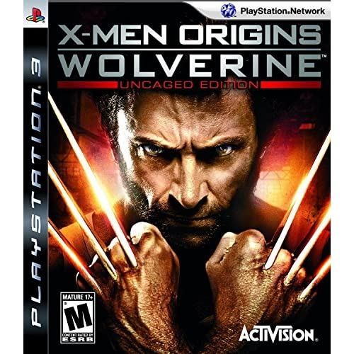 X-Men Origins: Wolverine Uncaged Edition For PlayStation 3 PS3