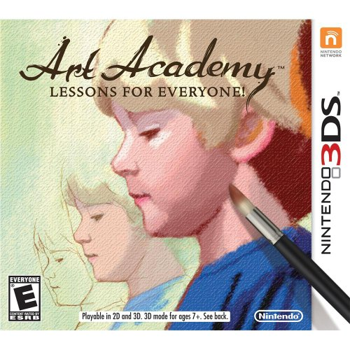 Art Academy: Lessons For Everyone! Nintendo For 3DS