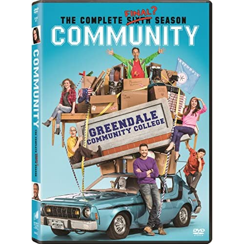 Image 0 of Community: The Complete Sixth Season On DVD With Gillian Jacobs Comedy
