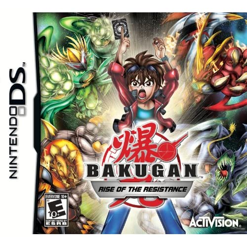 Bakugan: Rise Of The Resistance For Nintendo DS DSi 3DS 2DS With Manual and Case