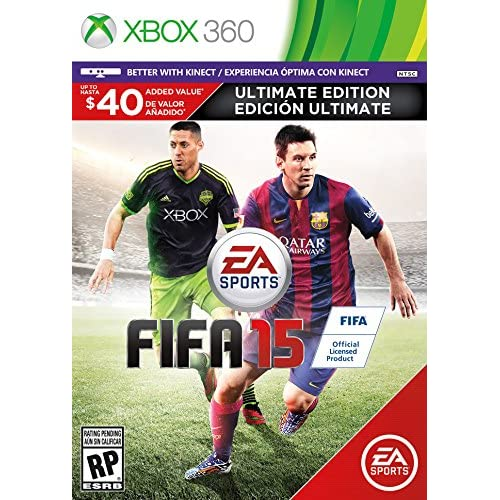 Image 0 of FIFA 15 Ultimate Edition For Xbox 360 Soccer With Manual and Case