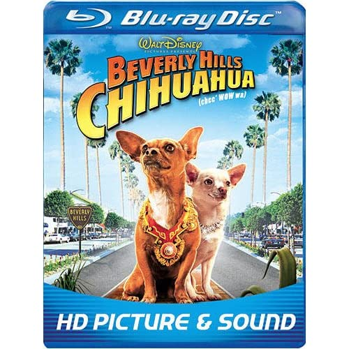 Beverly Hills Chihuahua Bd Live Blu-Ray On Blu-Ray With Jaime Lee Curtis Disney