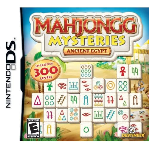 Image 0 of Mahjong Mysteries: Ancient Egypt For Nintendo DS DSi 3DS 2DS Puzzle