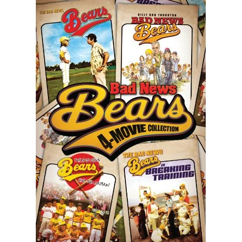Image 0 of Bad News Bears Four-Movie Collection Original 1976 Classic / Go To Japan / Break