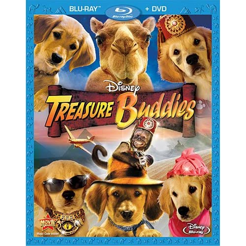 Image 0 of Treasure Buddies Two-Disc Blu-Ray/dvd Combo On Blu-Ray With Christopher Maleki 2