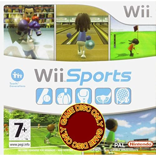 Image 0 of Wii Sports Game With Tennis Bowling Golf Games For Wii And Wii U