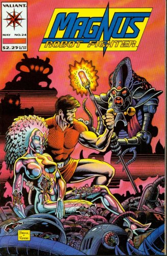 Magnus Robot Fighter #24 Action Comic Book