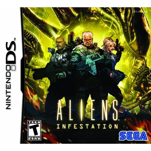 Aliens Infestation For Nintendo DS DSi 3DS 2DS