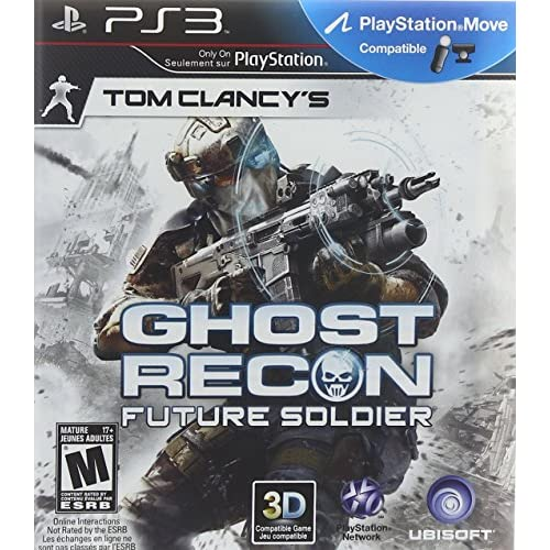 Tom Clancy's Ghost Recon: Future Soldier For PlayStation 3 PS3 Shooter