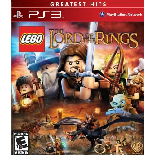 Lego Lord Of The Rings For PlayStation 3 PS3