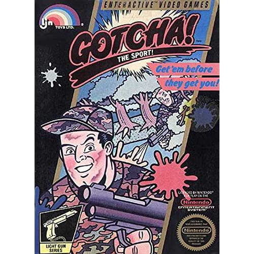 Image 0 of Gotcha! The Sport! For Nintendo NES Vintage