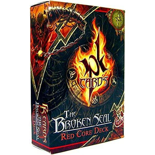 Image 0 of Pk Cards Trading Card Game The Broken Seal Red Core Deck TCG