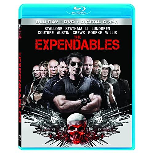 Image 0 of The Expendables Blu-Ray DVD On Blu-Ray With Sylvester Stallone