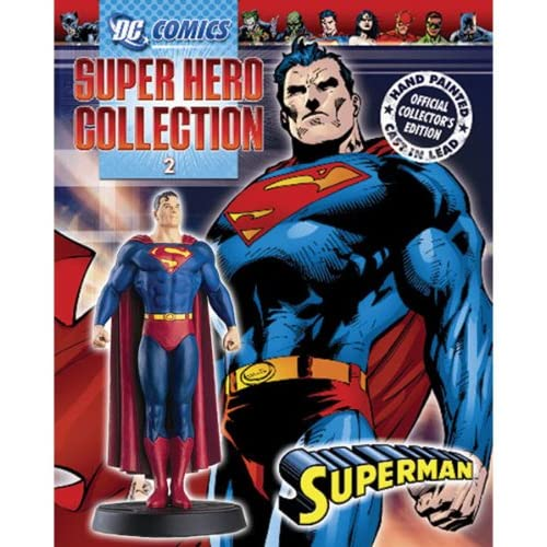 DC Superhero Figurine Collection Issue 2 Superman Toy