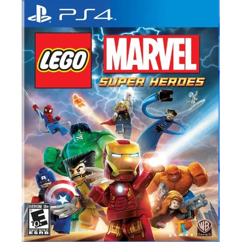 Lego Marvel Super Heroes For PlayStation 4 PS4