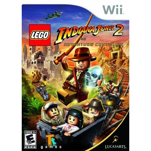 Image 0 of Lego Indiana Jones 2: The Adventure Continues Nintendo For Wii