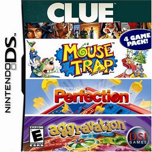 Image 0 of Clue/mouse Trap/perfection/aggravation For Nintendo DS DSi 3DS 2DS Board Games