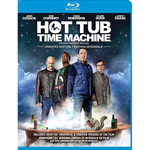 Image 0 of Hot Tub Time Machine Blu-Ray On Blu-Ray With Rob Corddry Comedy