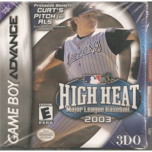 Image 0 of High Heat Major League Baseball 2003 For GBA Gameboy Advance