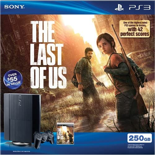Image 0 of PlayStation 3 PS3 250GB The Last Of US Bundle Super Slim