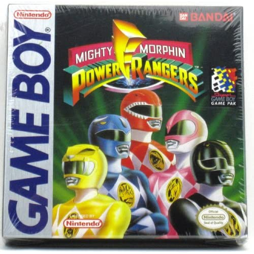 Mighty Morphin Power Rangers On Gameboy