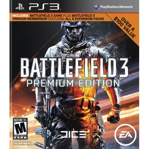 Battlefield 3 Premium Edition For PlayStation 3 PS3 Shooter