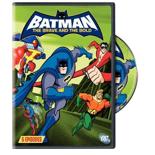 Image 0 of Batman: The Brave And The Bold: Volume Three On DVD with Diedrich