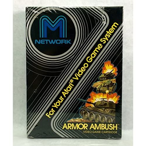 Armor Ambush For Atari Vintage