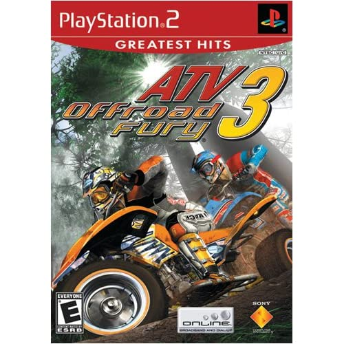 Image 0 of ATV Offroad Fury 3 For PlayStation 2 PS2 Racing