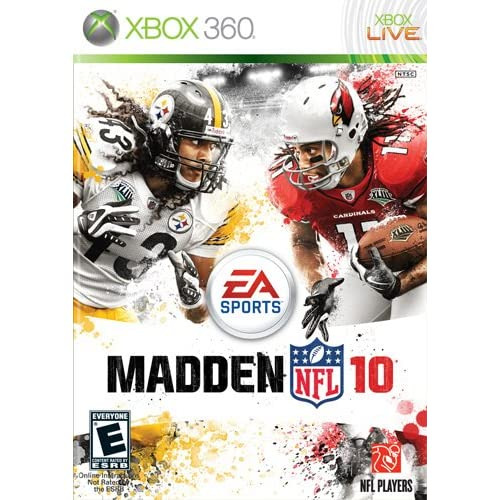 Madden NFL 10 For Xbox 360 Football
